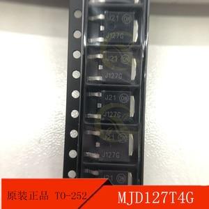 10PCS  MJD127T4G patch the TO-252 J127G darlington power transistor original products