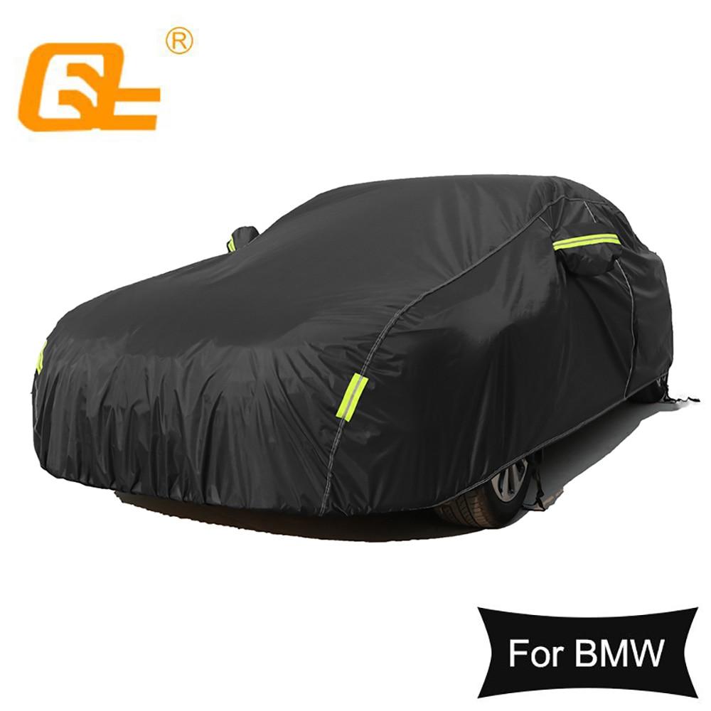Universal Car Covers Volledige Auot Cover Zon Uv Sneeuw Dust Slip Bescherming Cover Voor Bmw 3 Serie 5 Serie M3 m4 X3 X5 X1