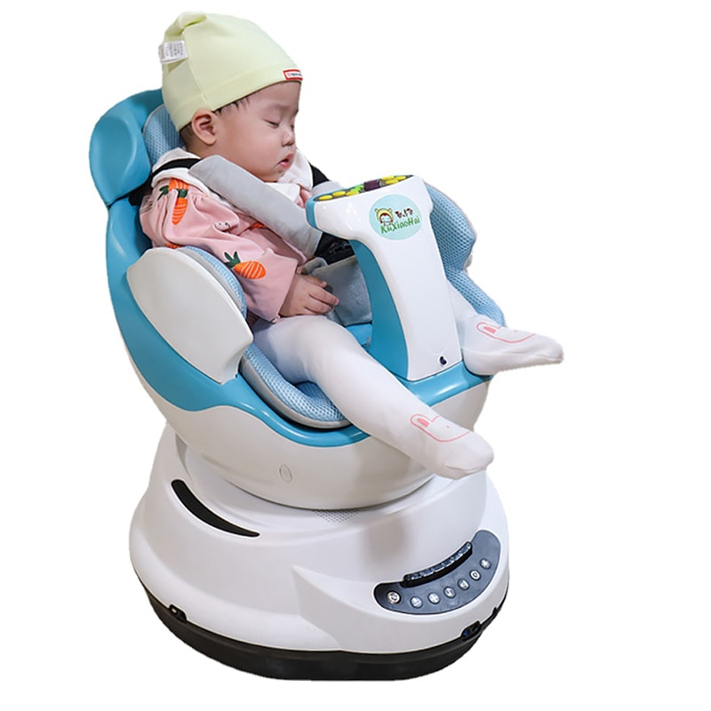 2021 New Smart Children's Music Rocking Chair To Coax Baby Artifact Indoor Smart Remote Control Baby Electric Car