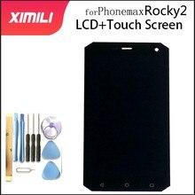 Original 5 ZOLL Für Phonemax Rocky 2 4G LCD Display Touch Screen Digitizer Montage teile