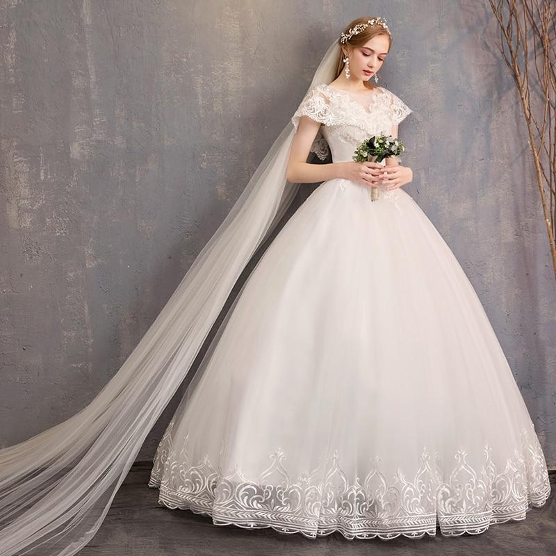 جديد الزفاف فستان الزفاف فستان الزفاف الزفاف الدانتيل التطريز جميلة بيضاء طويلة فستان الزفاف عودة فتح الدانتيل الدانتيل الزفاف