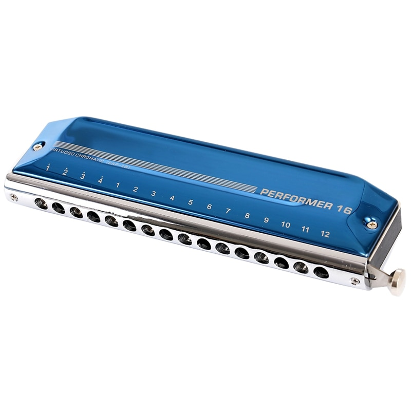 Easttop Chromatic Harmonica Performer 16 Holes 64 Tone Mouth Organ Harp Key Of C Professional Musical Instruments