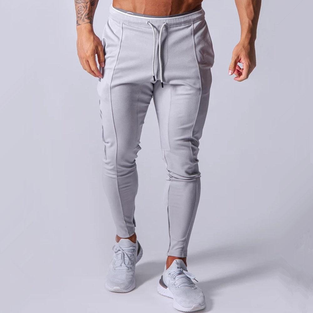 Черные штаны для бега, мужские тренировочные штаны, хлопковая спортивная одежда, спортивные брюки, мужские штаны для тренажерного зала, фит...