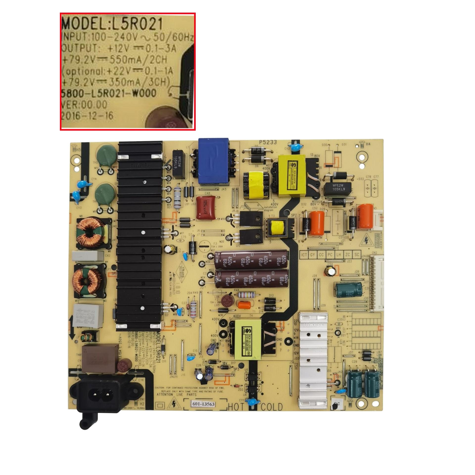 55E388G امدادات الطاقة مجلس L5R021 5800-L5R021-W000
