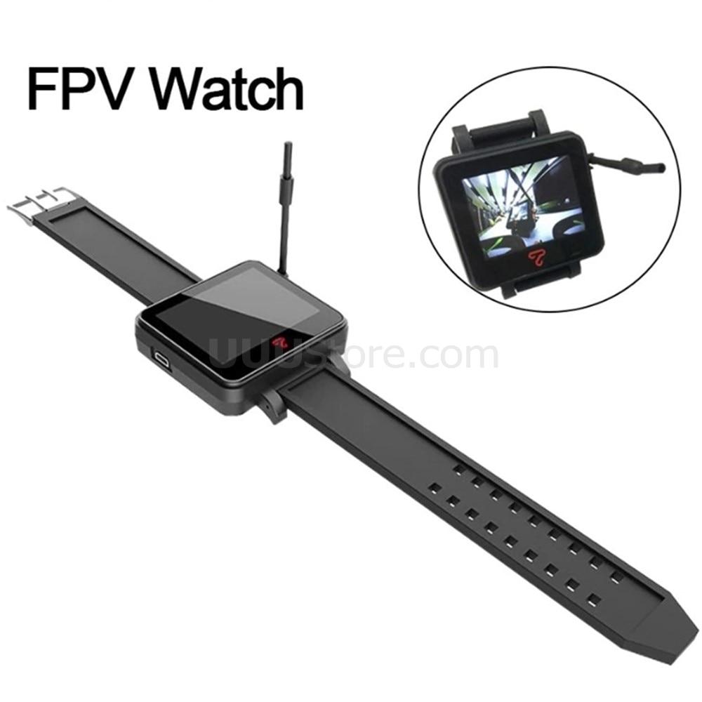 Topsky-ساعة FPV مع جهاز استقبال 48 قناة ، 5.8 جيجا هرتز ، شاشة عرض FPV ، Raceband ، واجهة mmcx ، معصم للسباق RC Quadcopter