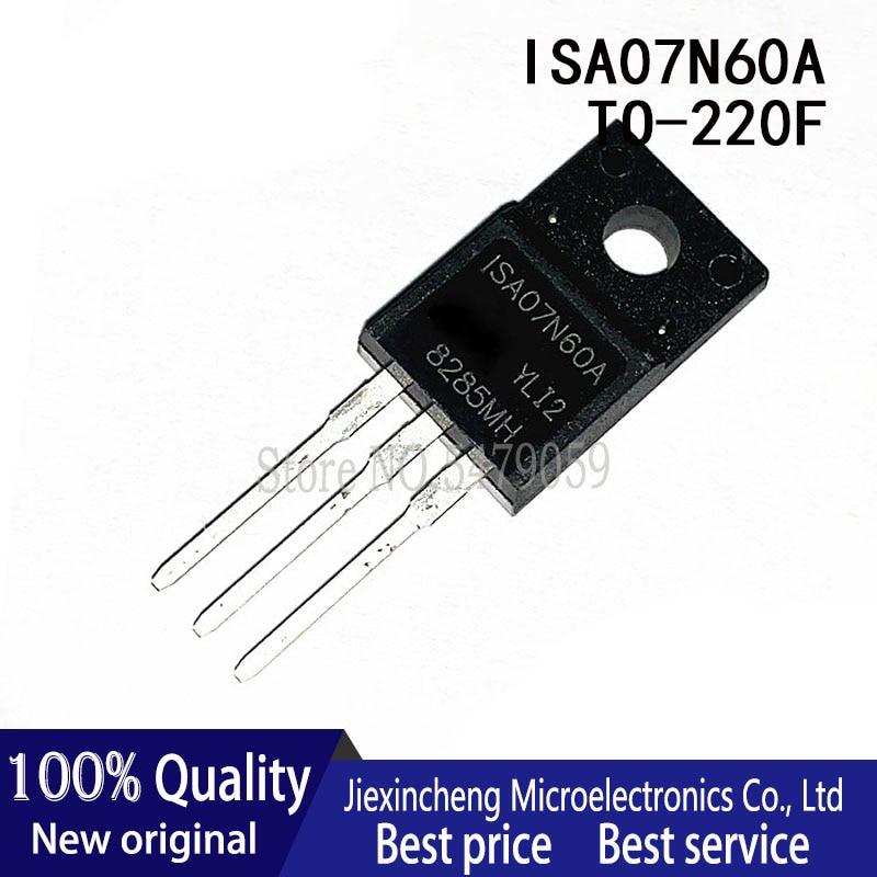 10pcs fqpf12n60c 12n60c 12n60 fqpf12n60 new to 220f 10PCS ISA07N60A 7N60 TO-220F 7A 600V MOSFET New original