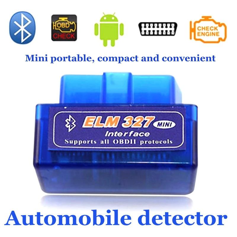 Автомобильный сканер V2.1 OBD2 ELM 327 Android, универсальный автомобильный мини-детектор с Bluetooth, автомобильные аксессуары, инструменты для ремонта, 1...