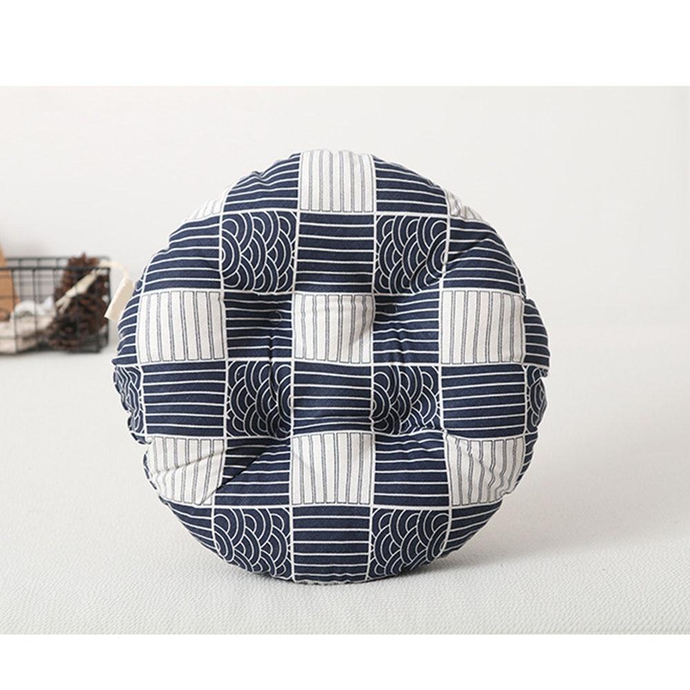 Круглая форма подушки сиденья японский стиль ткань татами футон утолщаются подушки дома гостиной эркер пол подушки