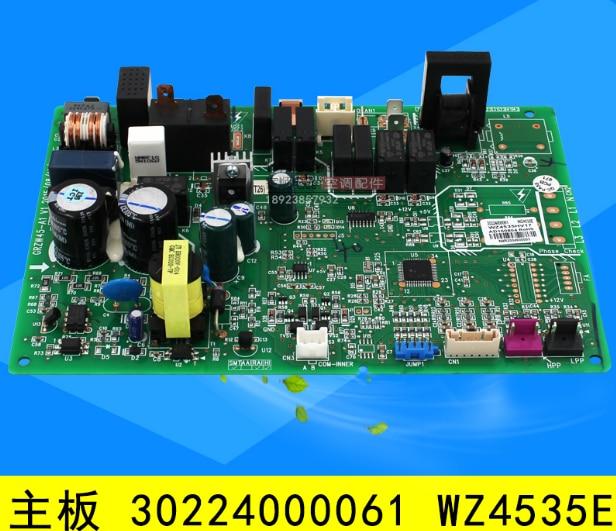 Máquina de conducto de aire acondicionado forGree, placa base de máquina externa 30224000061 WZ4535E, placa base de ordenador GRZW45-A1