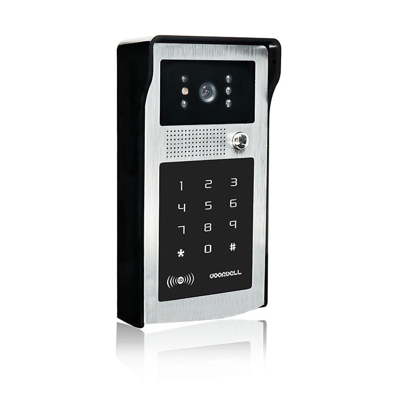 9inch Wifi Video door phone intercom system+Electric Bolt Lock+ID Inductive Card password Camera+Power Supply APP Phone Unlock enlarge