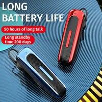 Наушники-вкладыши E1 Беспроводные с поддержкой Bluetooth 5,0 и микрофоном