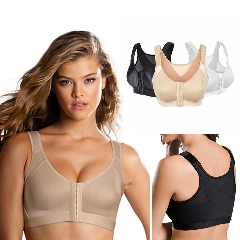 Sujetador deportivo para mujer, Corrector de postura, sujetador inalámbrico de Soporte para espalda, ropa interior