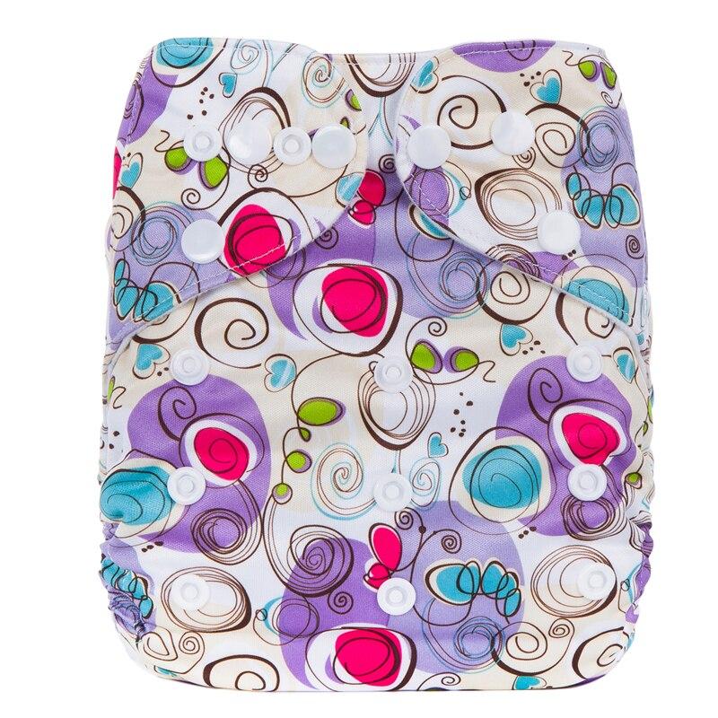 Waterproof Eco-friendly Diaper Cover Wrap Diapers Cotton Couches Lavables Reusable Cloth Pocket Nappy Diaper fashion cartoon print diaper pocket washable diapers couches lavables baby nappy reusable nappy baby cloth diapers