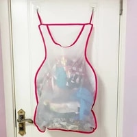 oxford cloth practical door back hanging laundry bag with hanger hooks door back convenient for dormitory