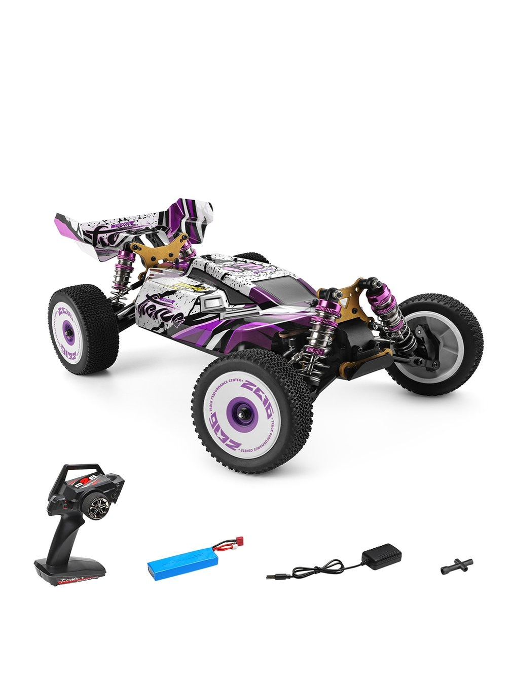Wltoys XKS 124019 RC Car 1/12 2.4GHz RC 4WD Racing Off-Road Drift Car RTR RC Toys Gift For Kids enlarge