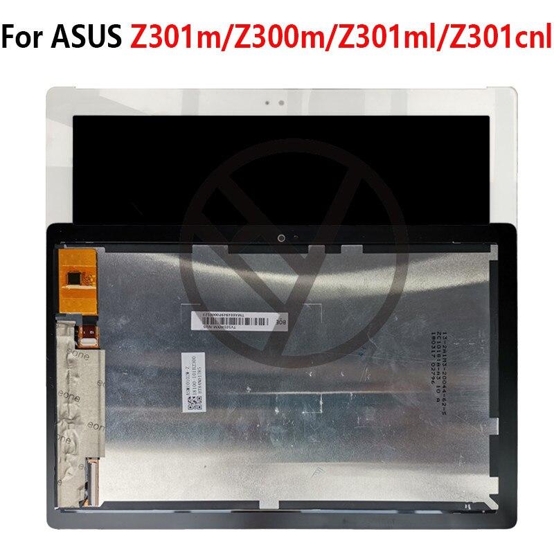 Para pantalla ASUS negro/blanco pantalla LCD pantalla táctil Reparación de montaje para ASUS Zenpad 10 Z300M Z301M Z301ML Z301CNL LCD