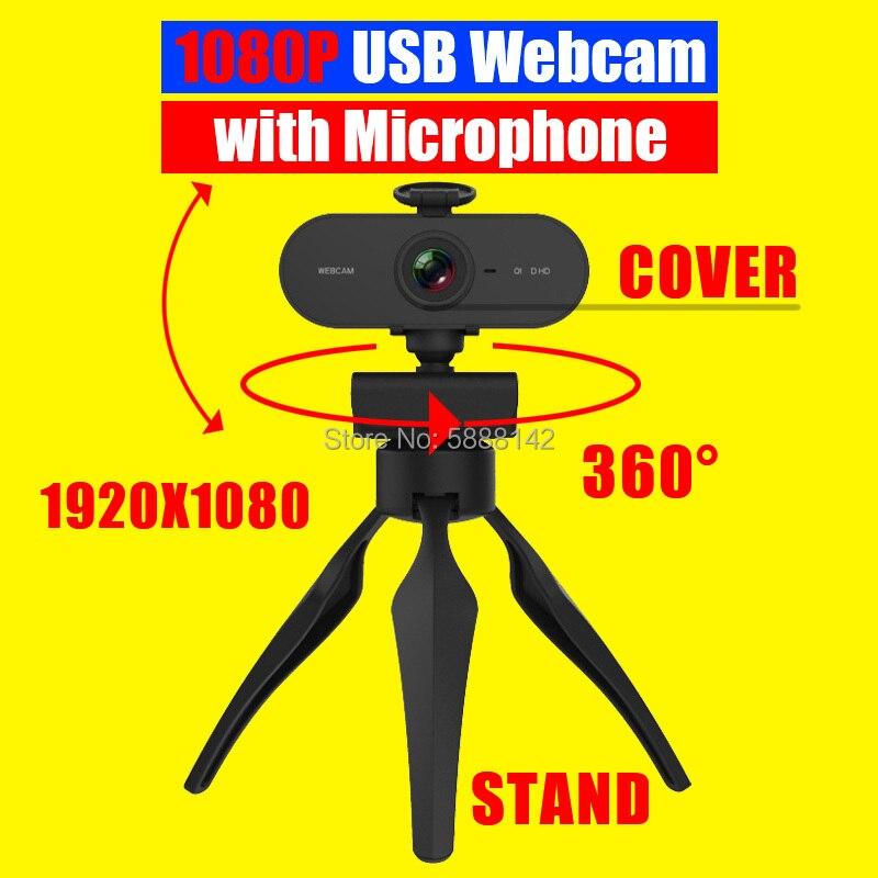 Cámara Web 4k con USB Para Pc, Camara con soporte, Youtube, vídeo...