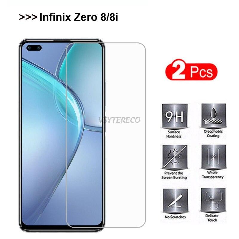 Protector de pantalla de película para Infinix Zero 8 Zero8, vidrio templado...