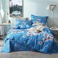 rings flower sea set duvet cover set pillowcase home textiles 23pcs bed linen king queen size dropship