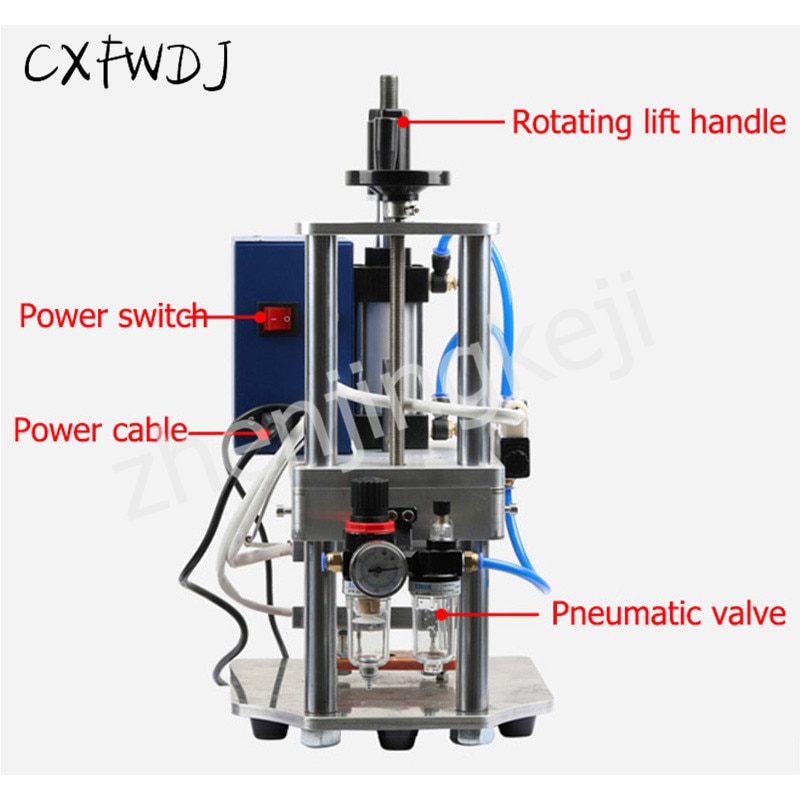 Upper and lower Hot Press Opening Sealing Machine enlarge