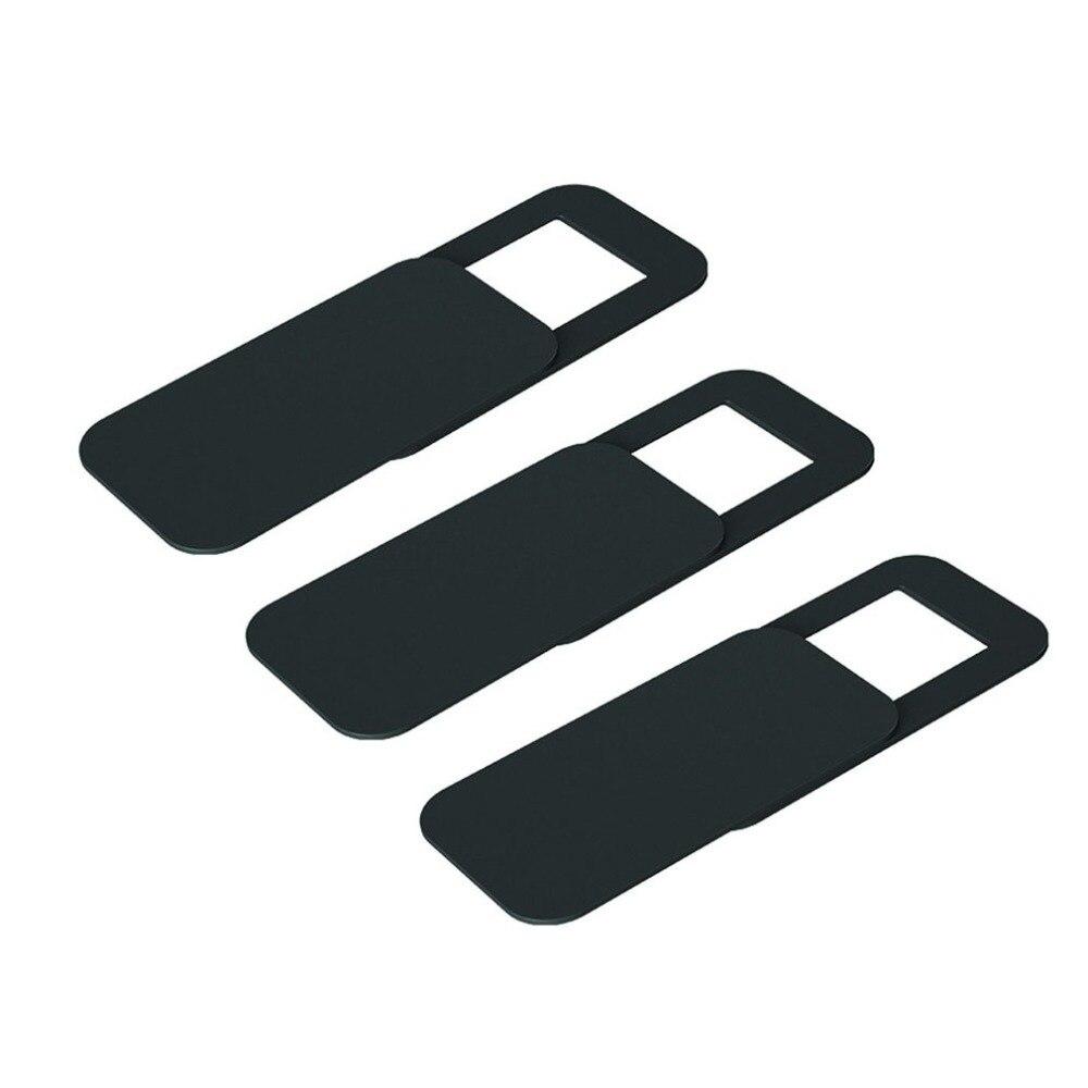 3 uds. T10, funda rectangular de plástico para Webcam, Protector de privacidad ultrafino, adhesivo obturador para cámara para teléfono, tableta, Notebook, escritorio