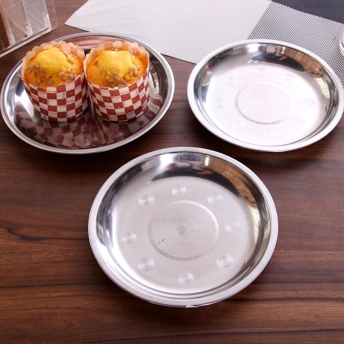 5pcs/pack Stainless Steel Plate High Quality Feeding Dish Anti-drop Tableware Soy Sauce Dish Baby Kids Dishes Set high quality 70mm ptfe teflon petri dish with cover f4 culture dish chemical experiment equipment free shipping