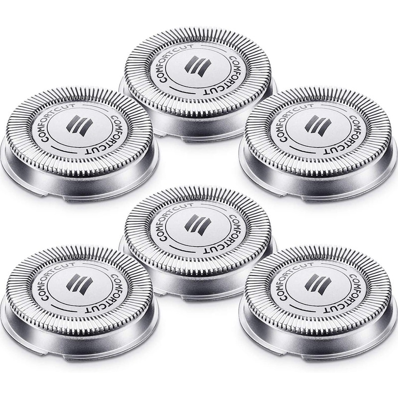 6 Packs SH30 Replacement Head Shaver Replacement Heads Compatible for  Electric Shaver Series 1000, 2000, 3000