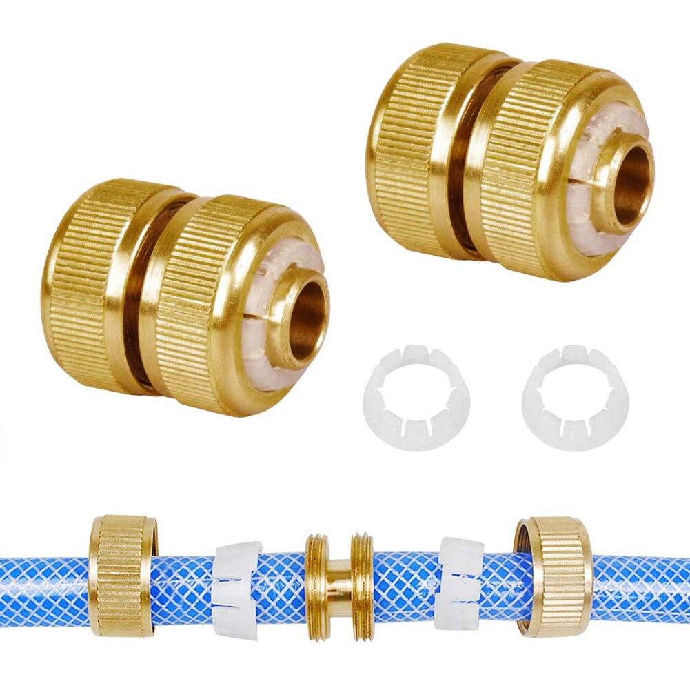 Conector de manguera de latón, reparación de ajuste de manguera de desconexión...