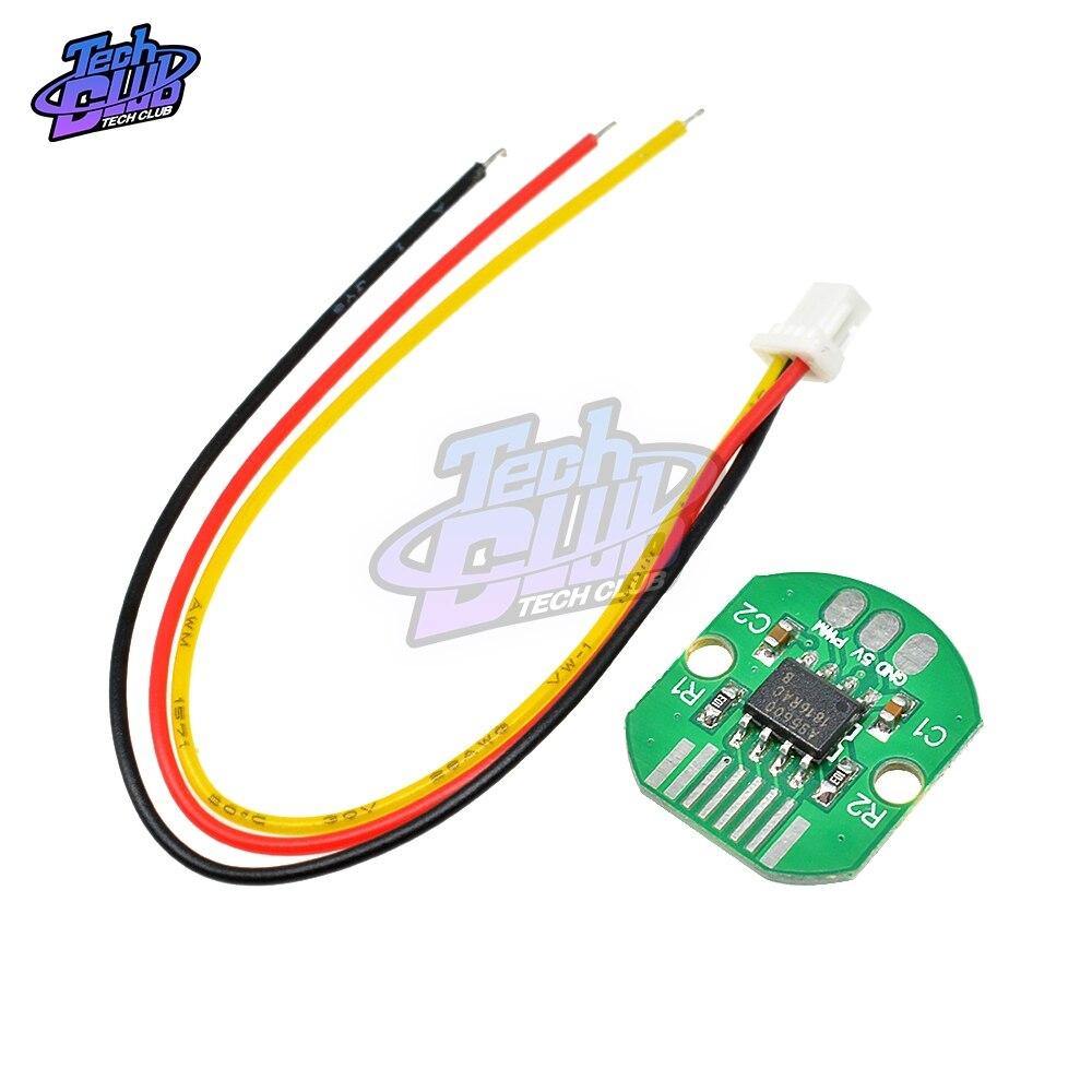 Codificador sem escova do motor do cardan da elevada precisão 12 bit do porto do codificador pwm i2c do valor absoluto as5600