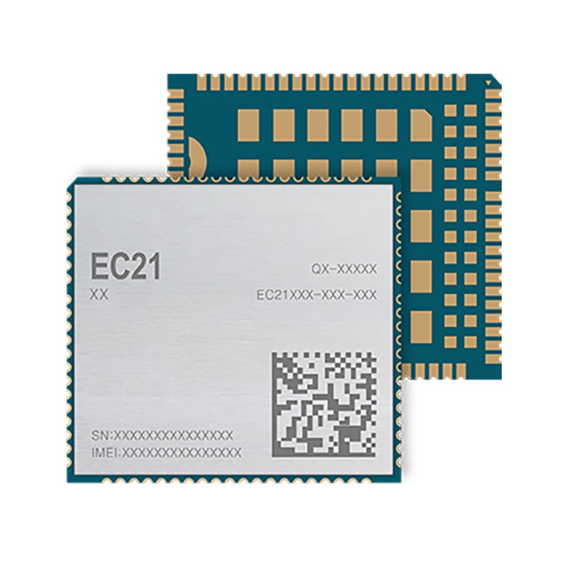 EC21-E EC21 LTE tipo SMT 4G LTE CAT1 para FDD-LTE/TDD-LTD Cat1 B1/B3/B5/B7/B8/B20 WCDMA B1/B5/B8 para EMEA/Tailandia/India