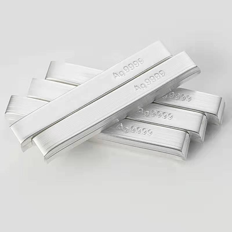 manufacture Ag Silver sputtering target ingot price