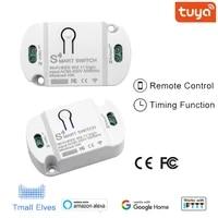 Commutateur Wifi Tuya commutateur de disjoncteur intelligent App telecommande vocale maison intelligente pour Amazon Alexa Google Assistant IFTTT en Stock