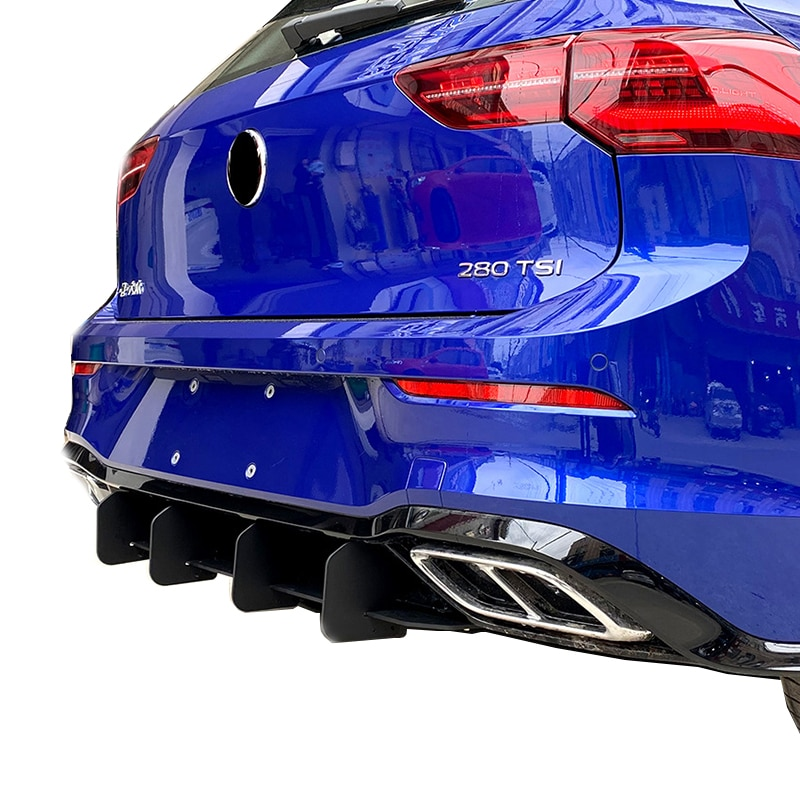 Upscale Modified Rear Spoiler Wind Blade ABS Suitable To Volkswagen Golf 6 GTI MK6 7 7.5 8 Scirocco R POLO 2011-2020 Tail Lip