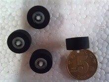 4pcs 13.5mm*6*1.5 car retractor press belt pulley deck audio pressure recorder cassette deck pinch roller tape Card Seat Stereo