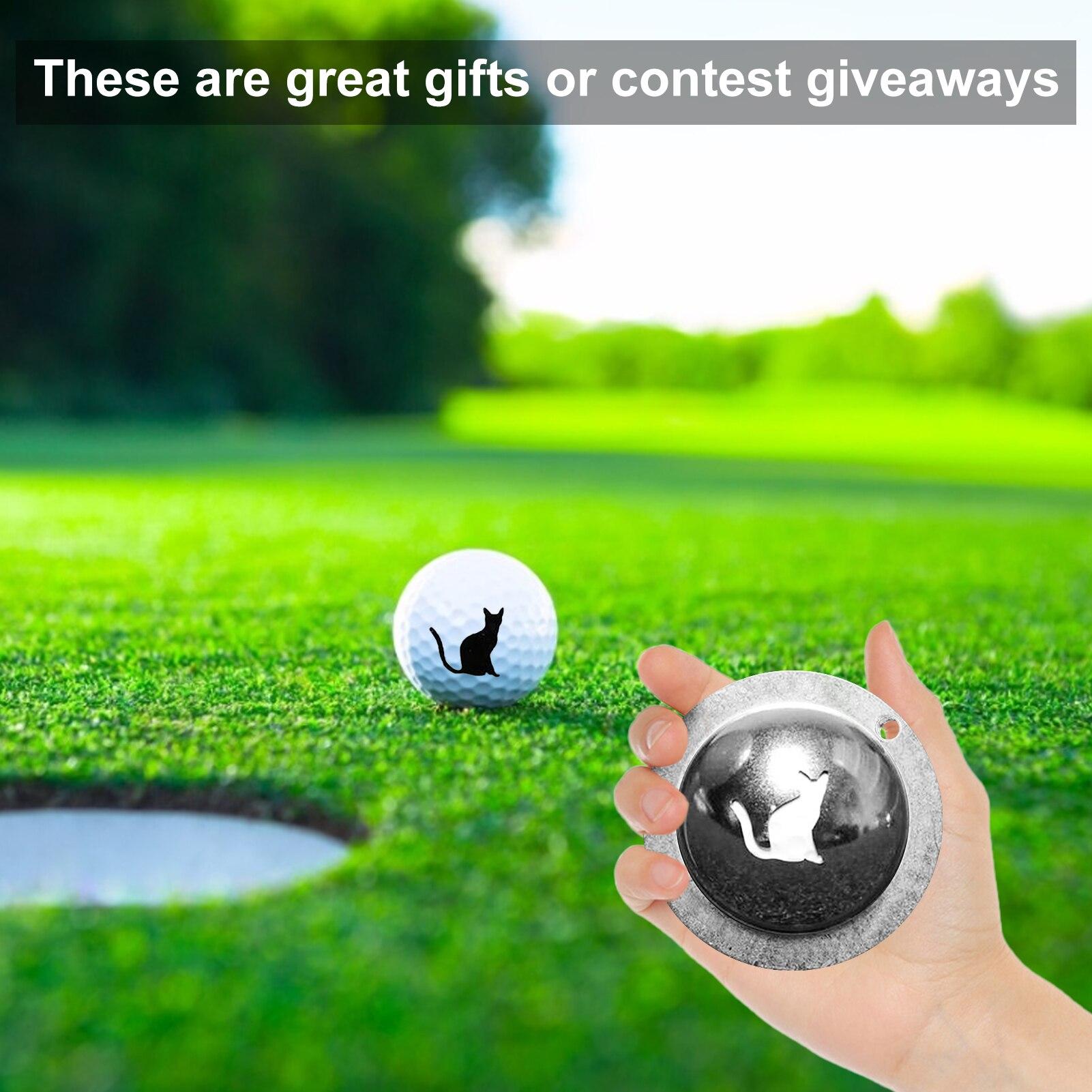 Подкладка для мяча для гольфа, линия рисования, маркером, шаблон, Портативный прочный индивидуальный логотип из нержавеющей стали, инструме...
