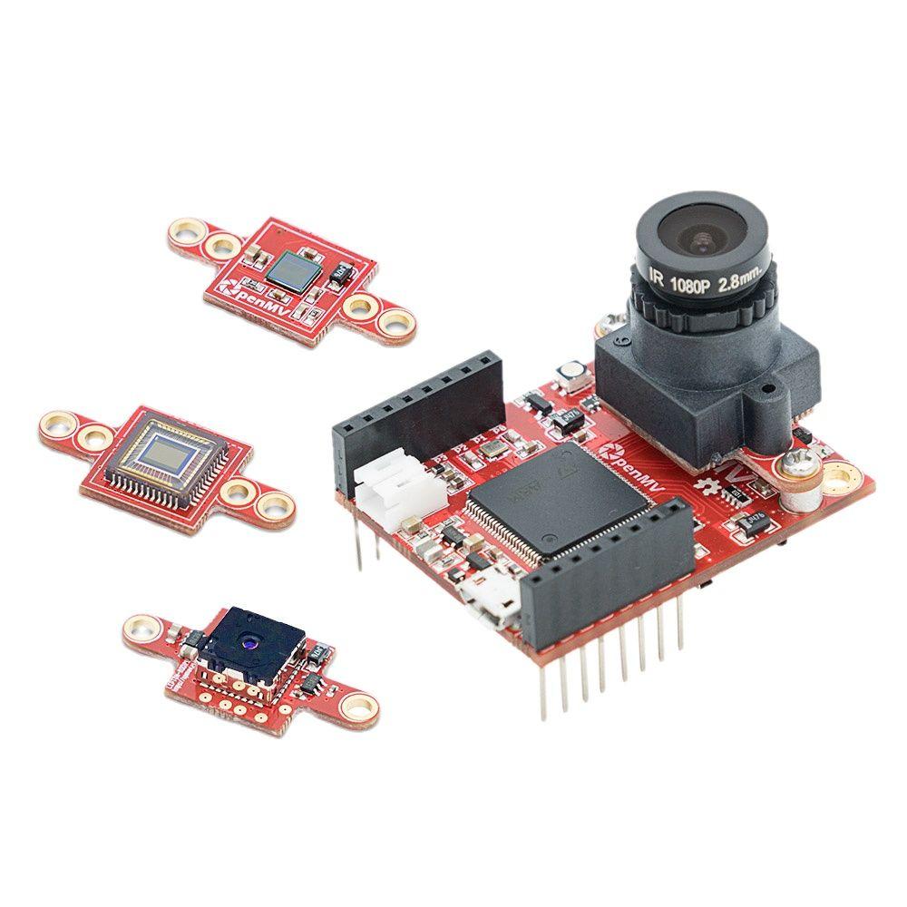 OpenMV4 H7 كام كاميرا ذكية معالجة الصور الرسمية لون خط دورية رمز الاستجابة السريعة