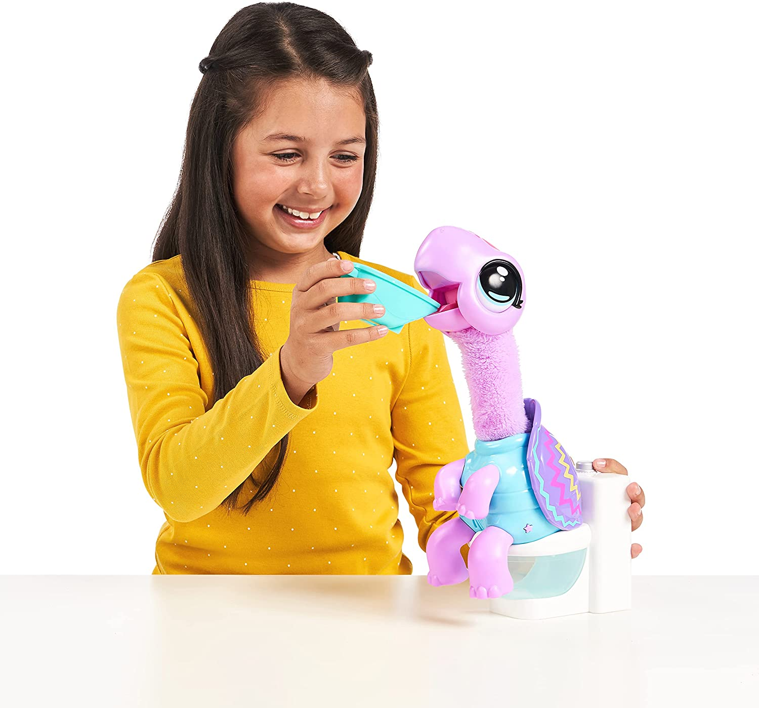 Little Live Pets Pooping Gotta Go Shelbert Turdle Interactive Entertaining Soft Plush Toy With Sounds Music Animal Cute Children enlarge