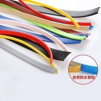 Adhesive U-molding Edge Banding Edgeband 9MM 12MM 14MM 15MM 16MM 18MM - 36MM White Beige Gray Black Red Blue Green Yellow Brown