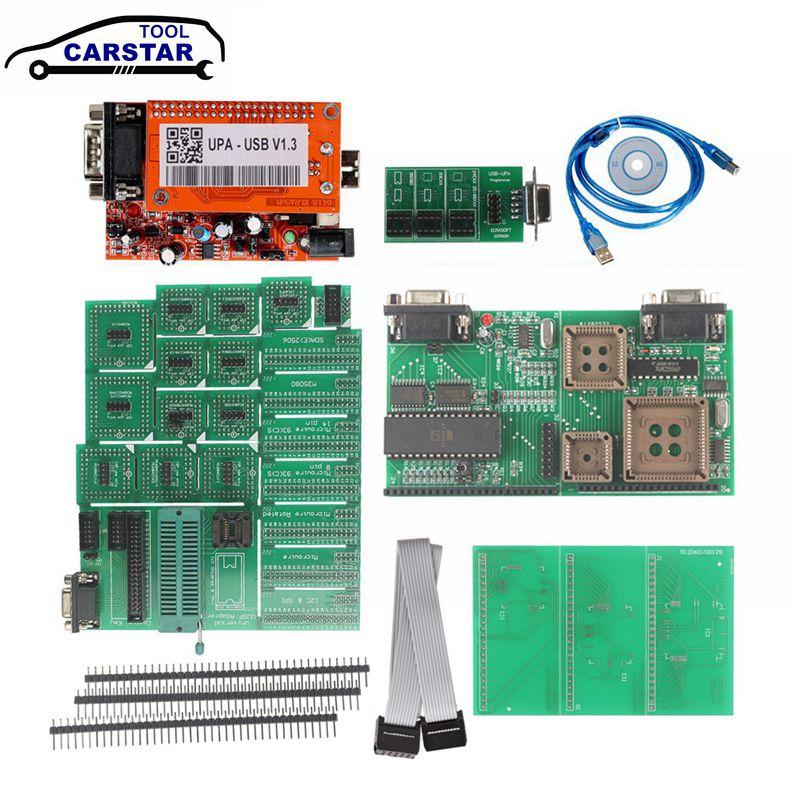 Niedrigsten Preis OBD2 Diagnose UPA-USB V 1,3 Wichtigsten Einheit ECU Chip Tunning UPA USB mit 1,3 eeprom adapter ECU programmierer