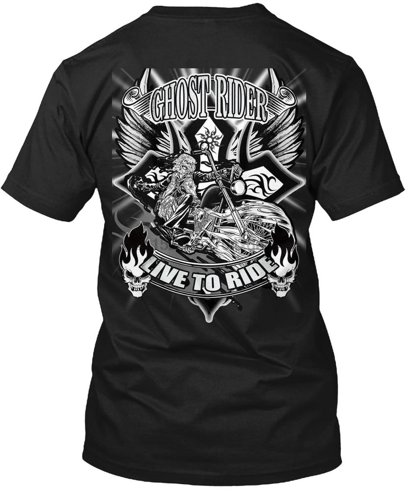 Camiseta para hombre Ghost Rider (1) camiseta para mujer