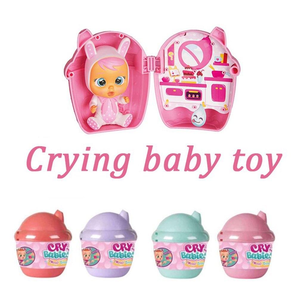 Волшебная плачущая кукла, Детская кукла, Реалистичная кукла для маленьких мальчиков и девочек