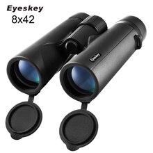 Eyeskey 8x42 Bird Watching Binoculars for Adults Compact Waterproof Telescope Wide Field of View Pro
