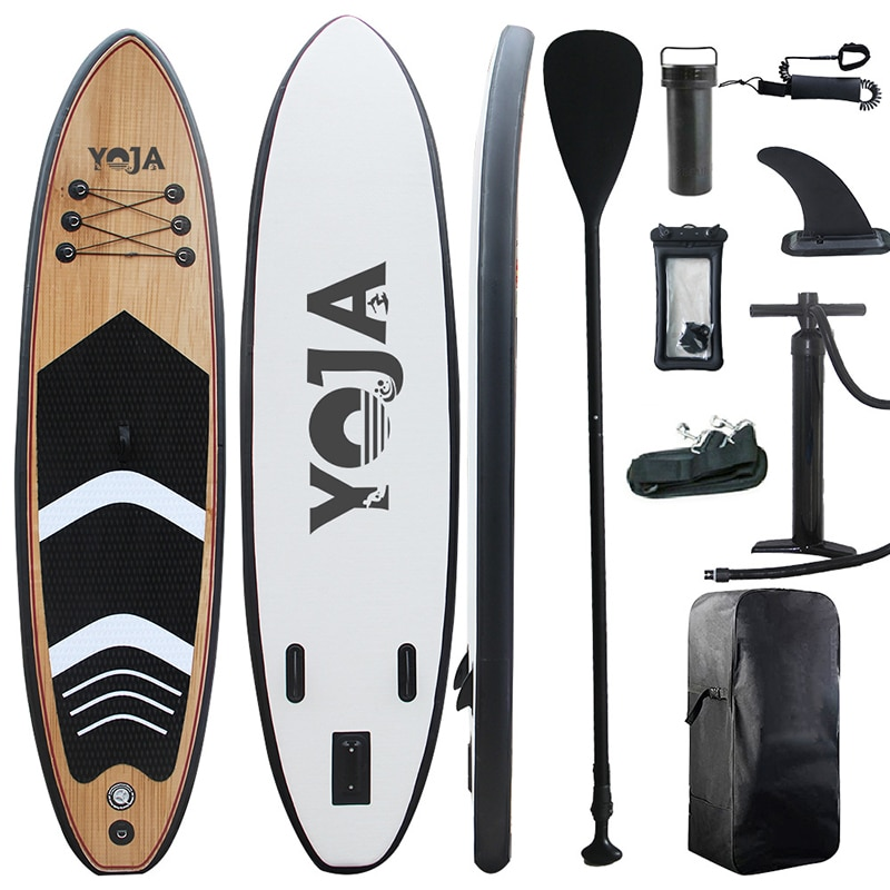 Surfing Stand up Paddle Board Inflatable Stand Up Paddle Board Inflatable Lightweight Surfboard with Accessory Carry Bag