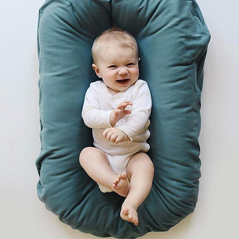 Cama do bebê berço viagem cama para crianças cuidados com o bebê ao ar livre berço portátil para o bebê recém-nascido 75*45cm algodão macio ybd006