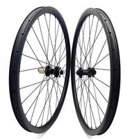 29er disc mtb wheels am 33x30mm tubeless cycling disc wheels fastace straight pull 100x15 142x12