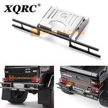 Xqrc TRX4 G500 TRX-6 G63 Auto Accessoires Off-Road Achterbumper Metalen Achter Anti-Collision Achterbumper Met beschermende Bodemplaat