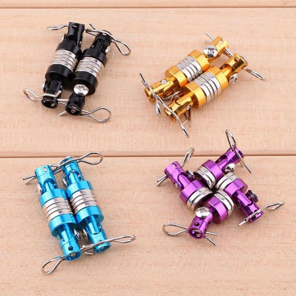 4Pcs Magnetic Stealth Invisible Body Post Mount Shell for 1:10 Traxxas HSP RC Car Remote Control Toy