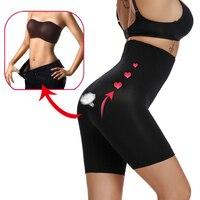 SURE YOU LIKE High Waist Tummy Shapewear For Women Seamless Safety Leggings Slimming Fat Burning Corset Shapewear Underwear