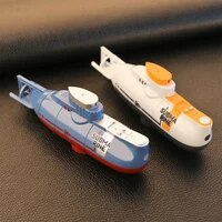 mini rc submarine 0 1ms speed remote control boat waterproof diving toy simulation model gift for kids boys girls new year gift