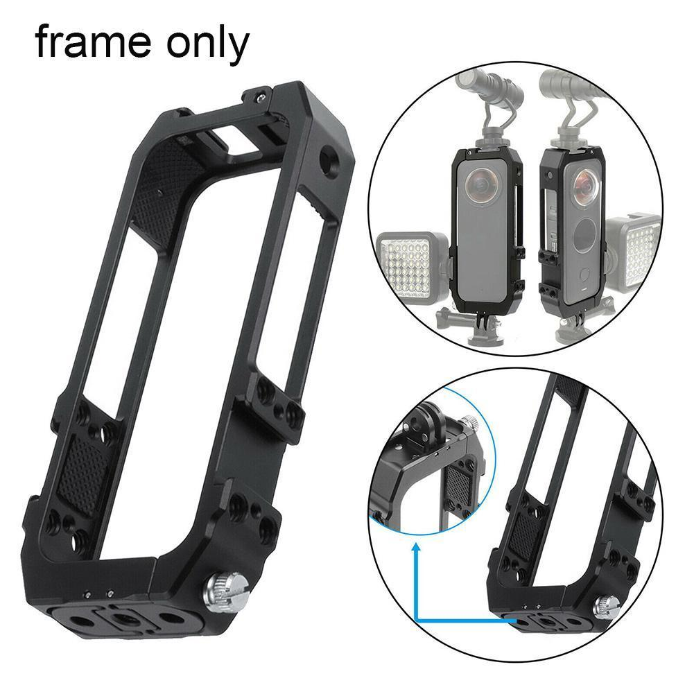 Для камеры Insta 360 ONE X2 Motion Camera металлическая защитная рамка для панорамной камеры